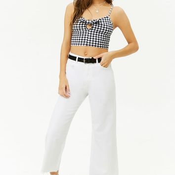 Gingham Crop Cami
