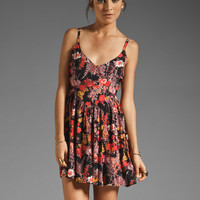 Somedays Lovin Sun Feather Lace Tape Detail Dress in Multi from REVOLVEclothing.com