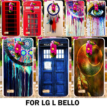 New Beautiful Multi Styles Pattern Hard Prastic Phone Cases For LG L Bello D335 D331 L Prime D337 Dream Catcher Bags Back Covers