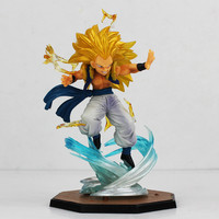 16cm Japanese Anime Dragon Ball Z Figuart Zero Super Saiyan 3 Gotenks PVC Action Figure Model Toy for Collectible Free Shipping
