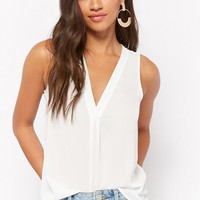 Relaxed V-Neck Tank Top