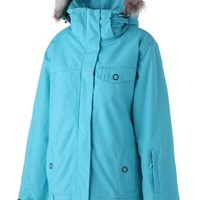 Surfanic Womens Solitude Surftex Jacket Turquoise
