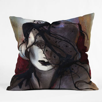 Deniz Ercelebi Mystic Iron Throw Pillow