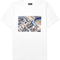A.P.C. - Printed Cotton-Jersey T-Shirt