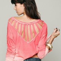 Free People We The Free Sunburst Long Sleeve Top