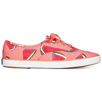 Keds Women's Champion Printed Oxford Sneakers