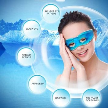 Ice Eye Gel Beauty Sleeping Eye Mask Reduce Dark Circles Relieve Fatigue Lessen Eyestrain  1 Piece Cooling eye gel Patches mask