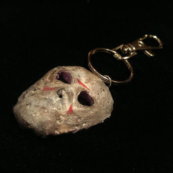 Jason Voorhees Friday the 13th Keyring Keychain