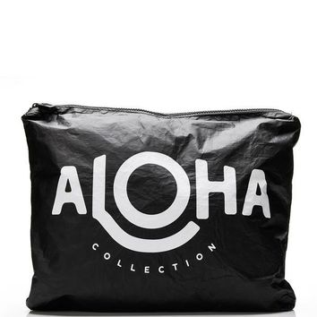 ALOHA Collection - Aloha Max Pouch | Black