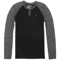 Hurley Icon Long Sleeve Henley T-Shirt at PacSun.com