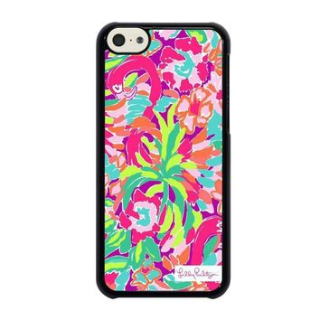 lilly pulitzer summer iphone 5c case cover  number 1