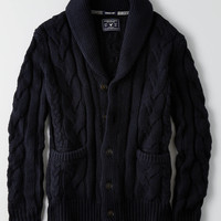 AEO Shawl Collar Cardigan, Navy