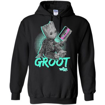 Marvel Guardians Vol. 2 Baby Groot Neon Tape Graphic T-Shirt