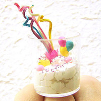 Kawaii Food Ring Vanilla Ice Cream Candy by SouZouCreations