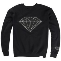 Diamond Supply Co Big Brilliant Crew Neck - Men's at CCS