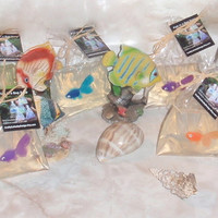 12 Pack Fish in a Bag Soap 4 oz - Fun Kids Hand or Bath Soap - Bulk Birthday Party Favor, Boys Girls Children, Goldfish Soap