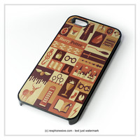 Harry Potter Collage Art iPhone 4 4S 5 5S 5C 6 6 Plus , iPod 4 5 , Samsung Galaxy S3 S4 S5 Note 3 Note 4 , HTC One X M7 M8 Case