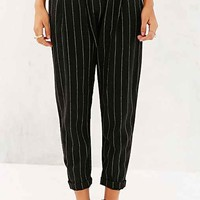 BDG Patterned Porter Pant- Black