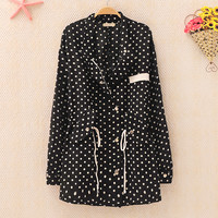Polka Dots Jacket for Women