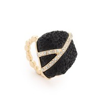 Pave Nugget Ring