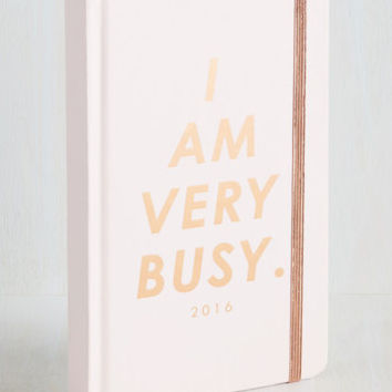 Quirky Glam With a Plan 2016 Planner in Petal by ModCloth