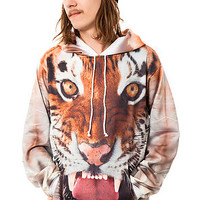 The Tiger Hoody in Orange