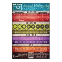 Manual Photography Cheat Sheet Print from Zazzle.com