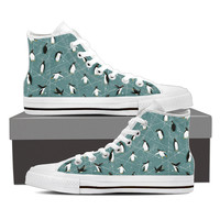 Penguin Pattern Shoes