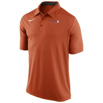 Nike Clemson Tigers Game Time Performance Polo - Orange