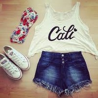 outfits with shorts from we heart it - Google Search