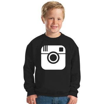 I Love Instagram Kids Sweatshirt