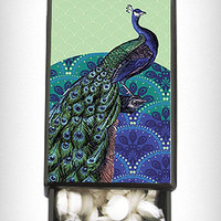 Peacock Slide Box With Mints | PLASTICLAND