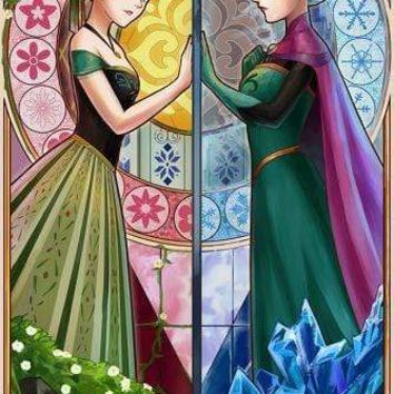 5D Diamond Painting Two Sides of Frozen Kit