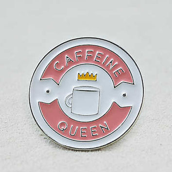 AEO Coffee Queen Pin, Multi