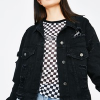 Under The Influence Denim Jacket