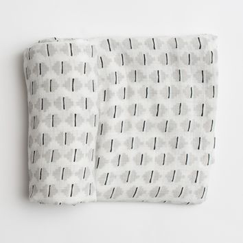 Sadie Swaddle in Organic Cotton Muslin
