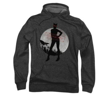 Batman Arkham City Catwoman Convicted DC Comics Licensed Adult Pullover Hoodie