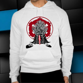 playing the game of thrones white unisex hoodie, clothing men woman, sweater