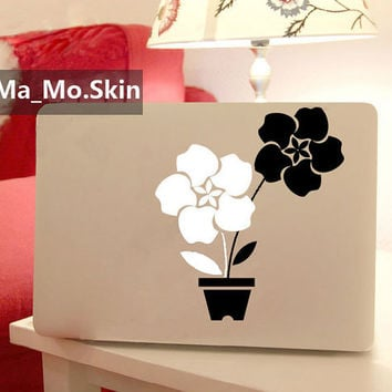 Apple flowersMacbook Decals Macbook Stickers by MaMoLIMITED