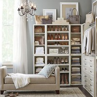 SUTTON CLOSET WALL SET