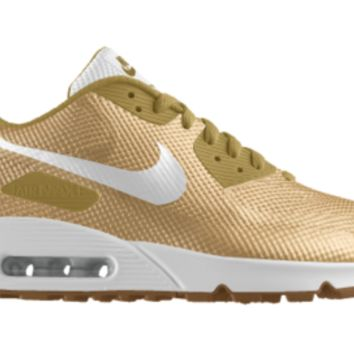Nike Air Max 90 NM HYP Premium iD Kids' Shoe Size 6Y (Gold)