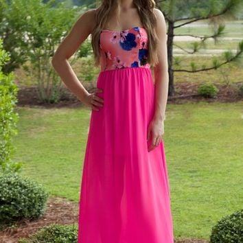 On The Pier Maxi: Neon Pink