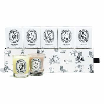 DIPTYQUE Scented Luxury Candle Set