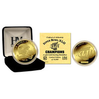 New York Giants 24Kt Gold Super Bowl Xlii Champions Coin