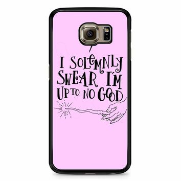 I Solemnly Swear That I Am Up To No Good Samsung Galaxy S6 Case