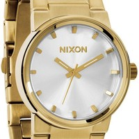 Nixon Cannon Champagne Gold & Silver Analog Watch