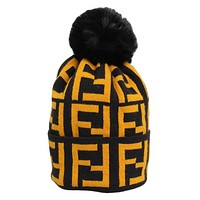 Fendi Winter Fashion New More Letter Keep Warm Leisure Knit Women Men Cap Hat