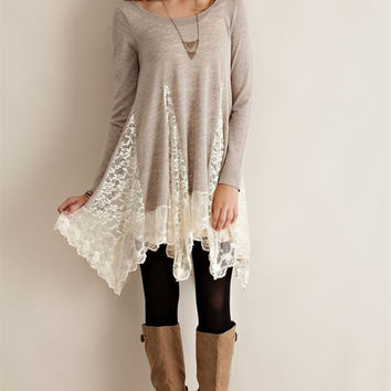 Make It Yours Lace Tunic