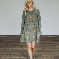 Madelyn Tunic in Olive