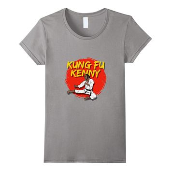 Funny Rap Concert Gift T-Shirt Kung Fu Kenny Fighting Gift